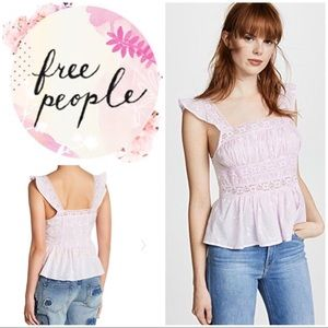 Free People Beautiful Fleurs Blouse